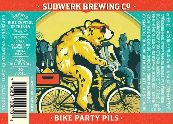 sudwerk bike party pils