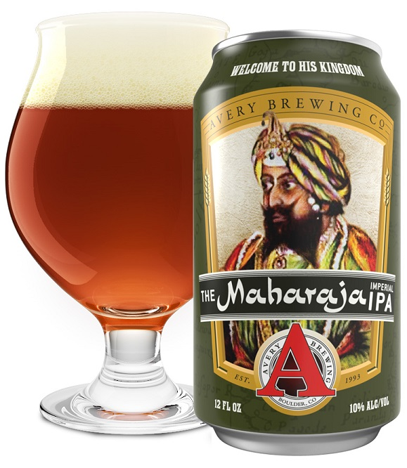 Avery The Maharaja 12oz can
