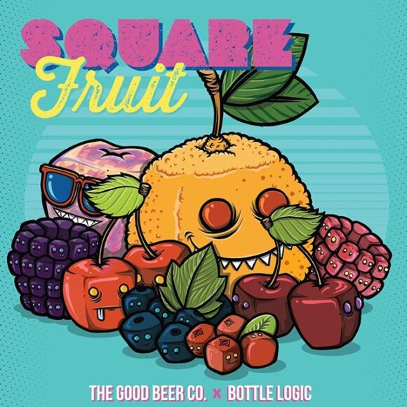 Good Beer Company-Bottle Logic Square Fruit