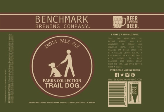 Benchmark Parks Collection Trail Dog IPA
