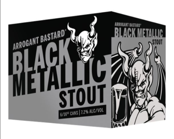 Arrogant Shop stone arrogant bastard black metallic stout 16oz can | bine & vine